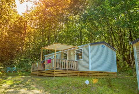 Location mobil-home camping Dordogne