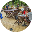 camping 3 étoiles bar restaurant dordogne