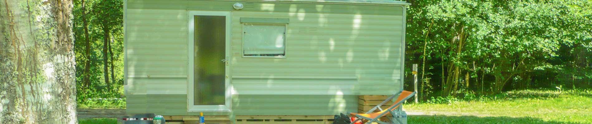 Location Mobil home 2 chambres Dordogne