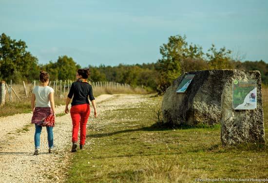 Parc camping sentiers de randonnée