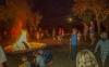 parc camping soirée animée