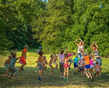 activités sportives enfant camping dordogne