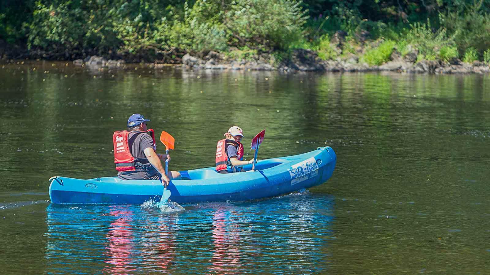 camping activité rivière dordogne