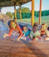 Espace détente pour enfants camping Dordogne